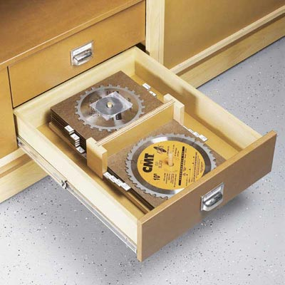Top-Drawer Blade Organizer