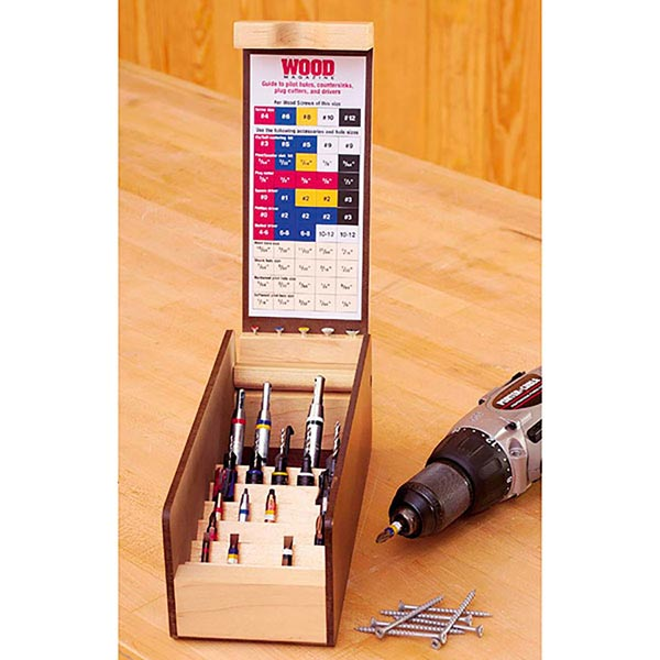 Multi Drill/Driver Organizer Woodworking Plan, Workshop & Jigs Shop Cabinets, Storage, & Organizers