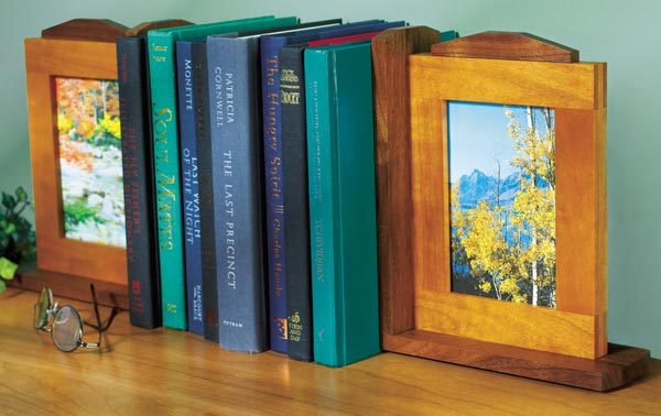 Picture-perfect Bookends Woodworking Plan, Gifts & Decorations Office Accessories Gifts & Decorations Picture Frames