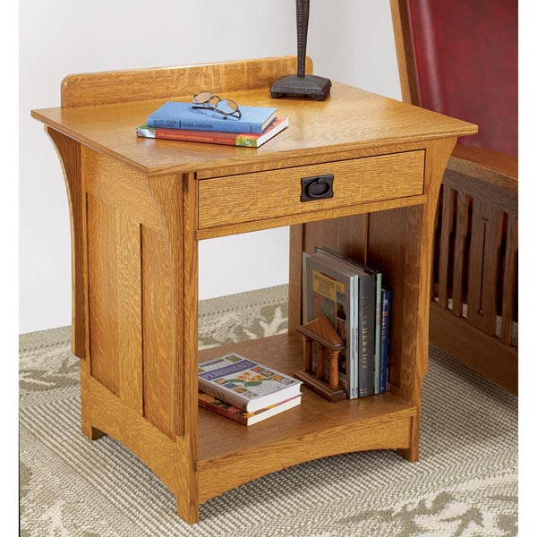Arts and Crafts Nightstand