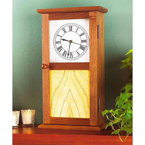Shaker-Style Clock Plan
