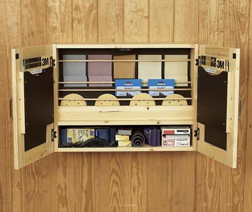 Get-It-All Together Sandpaper Cabinet