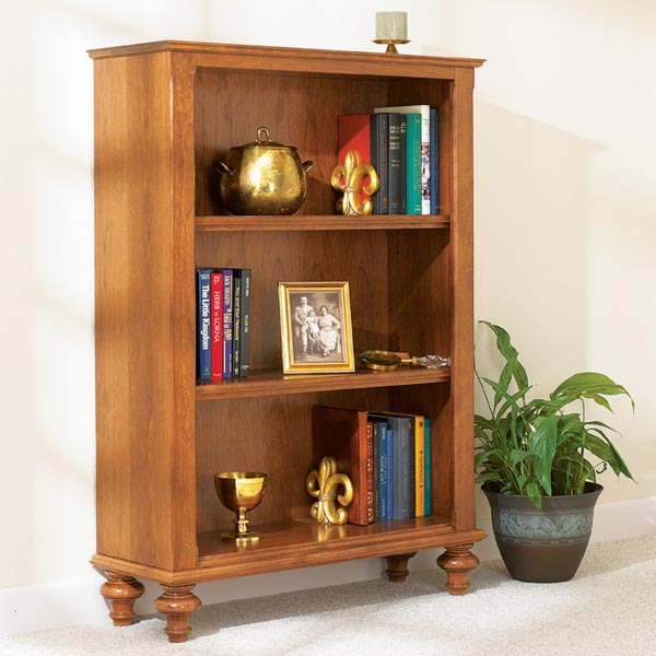 Build-in-a-weekend Bookcase Woodworking Plan, Furniture Bookcases & Shelving