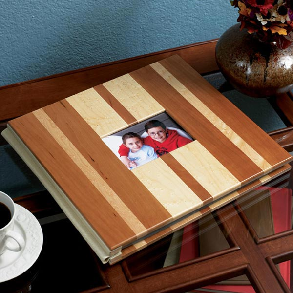 Scrapbook cover Woodworking Plan, Gifts & Decorations Picture Frames