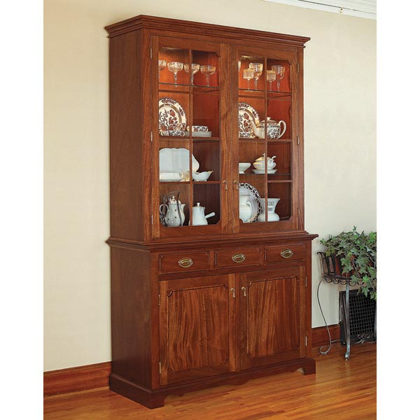 Heirloom China Cabinet Woodworking Plan, Furniture Cabinets & Storage