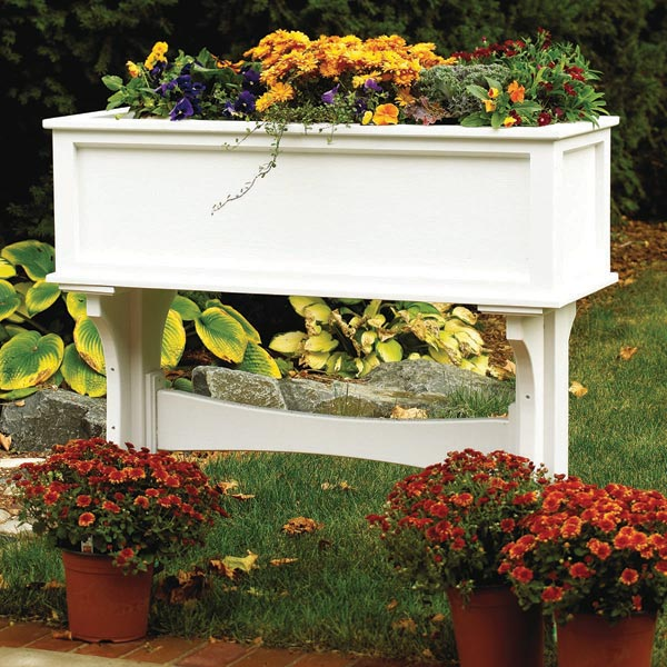 Freestanding Garden Planter Box