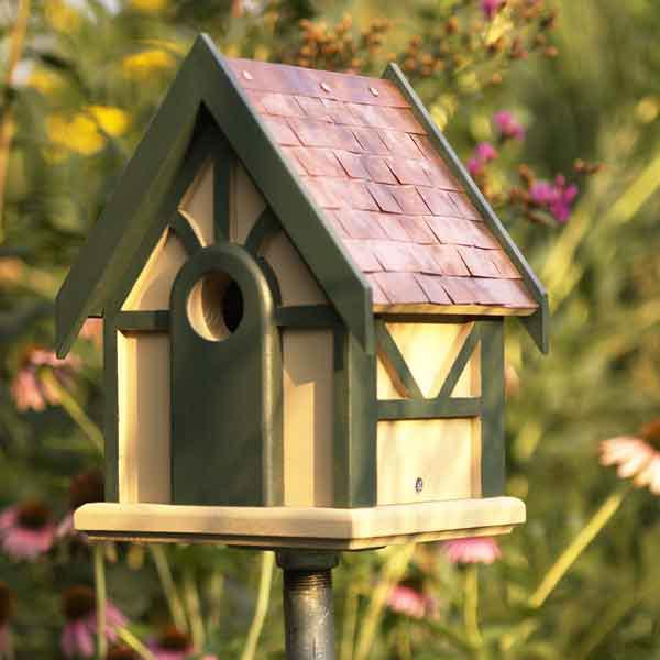 A Tudor for Tweeters Woodworking Plan, Outdoor For Birds & Pets
