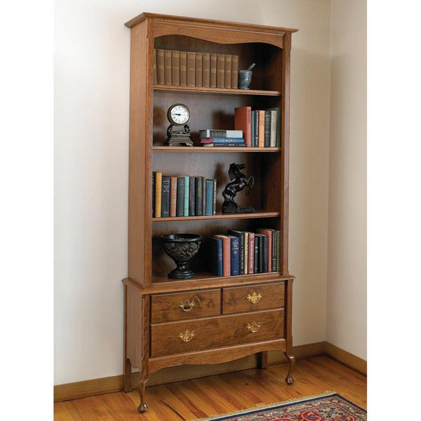 Heirloom bookcase Woodworking Plan, Furniture Bookcases & Shelving