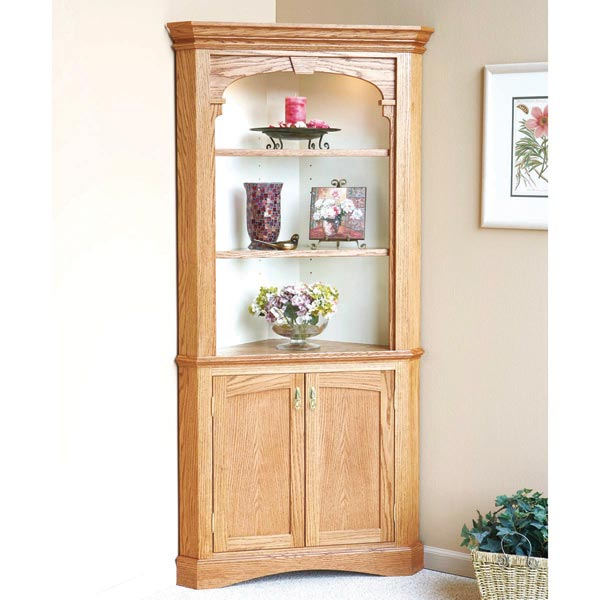 Heirloom Corner Cabinet