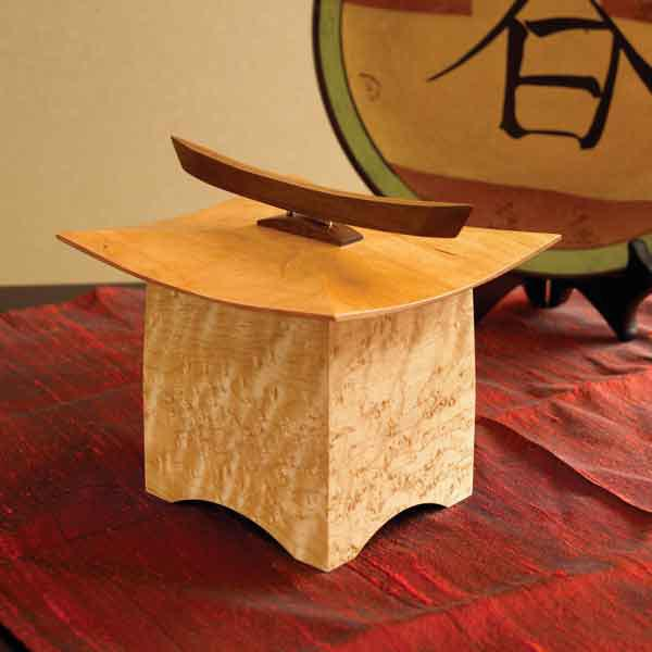Pagoda Box Woodworking Plan, Gifts & Decorations Boxes & Baskets