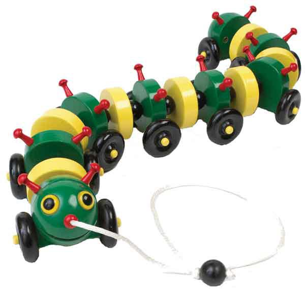 Tug-along Caterpillar Woodworking Plan, Toys & Kids Furniture