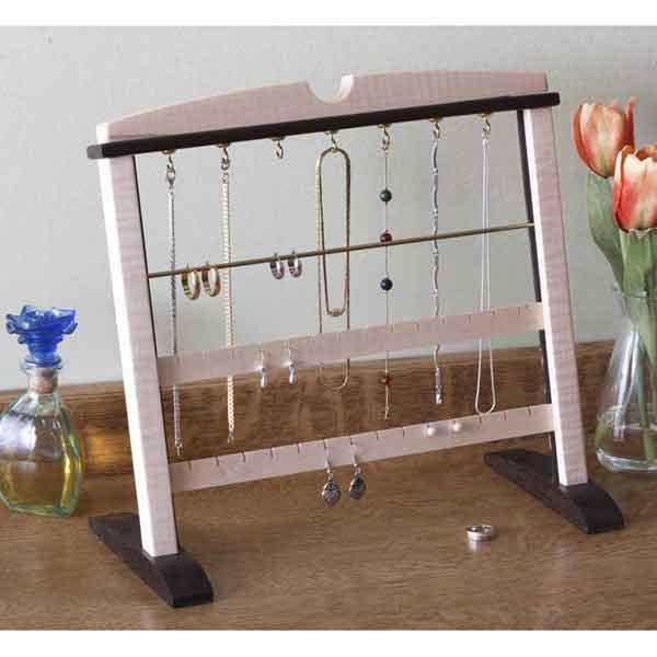 A Gem of a Jewelry Stand Woodworking Plan, Gifts & Decorations Boxes & Baskets