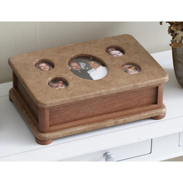 Photo Frame Catchall Box