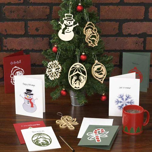 Scrollsaw Greetings Ornaments