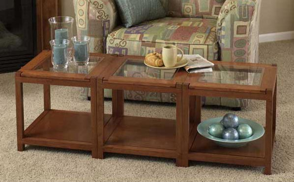 Sectional Tables Woodworking Plan, Furniture Tables