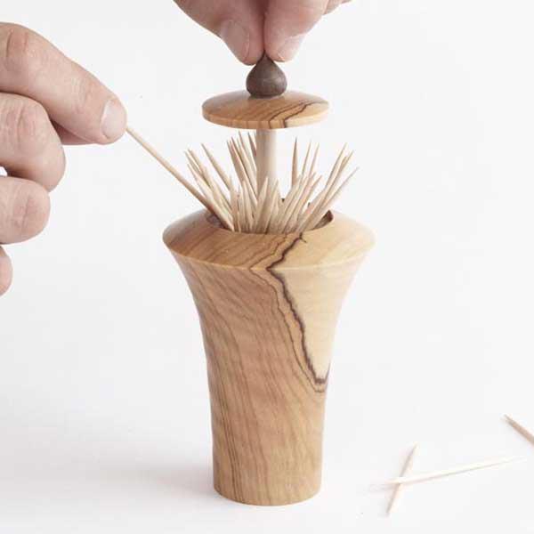 Pop-up Toothpick Dispenser