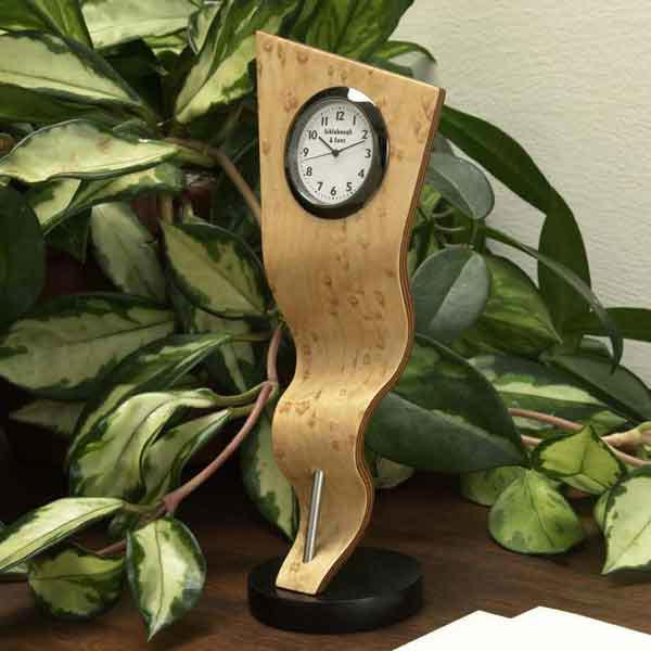 Rippling Ribbon Clock