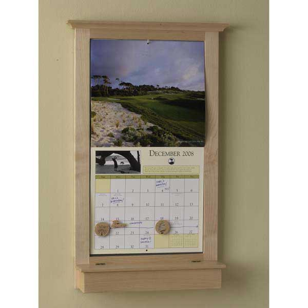 Calendar Keeper Frame Woodworking Plan From WOOD Magazine