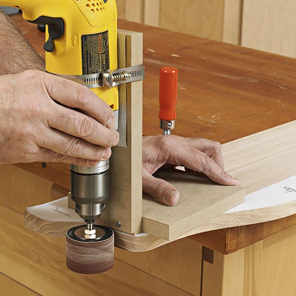 Portable Drum-Sander Jig
