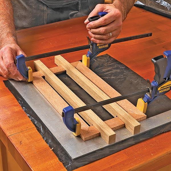 No-Slip helpers for Clamping Frames