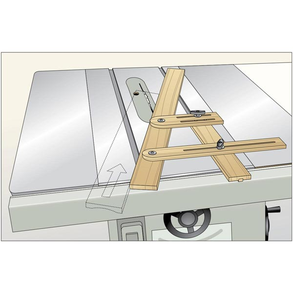 Cove-Cutting Guide Is Sturdy and Secure