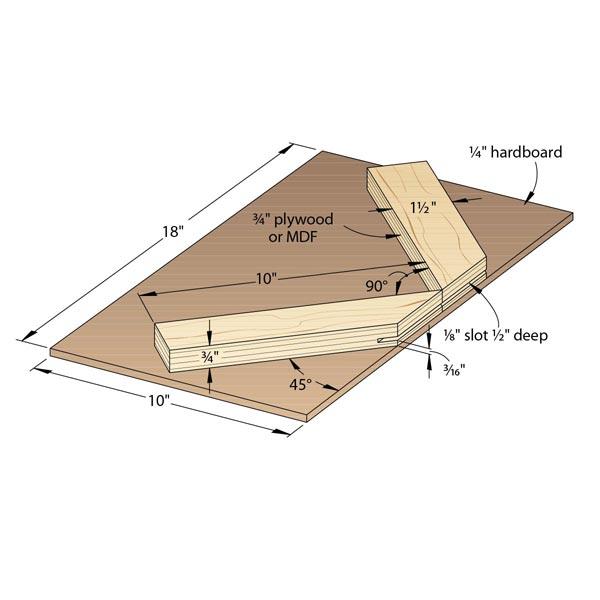 Router-Table Spline-Cutting Jig Woodworking Plan, Workshop & Jigs Jigs & Fixtures Workshop & Jigs $2 Shop Plans