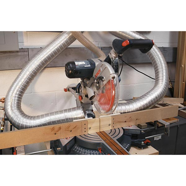 Zero-Clearance Mitersaw Fence