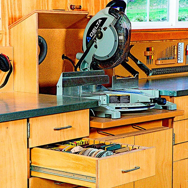 Mitersaw Dust-Collection Hood Woodworking Plan, Workshop & Jigs Dust Collection Workshop & Jigs $2 Shop Plans