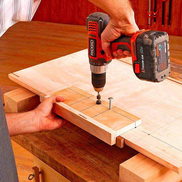 Shelf-Pin Drilling Jig