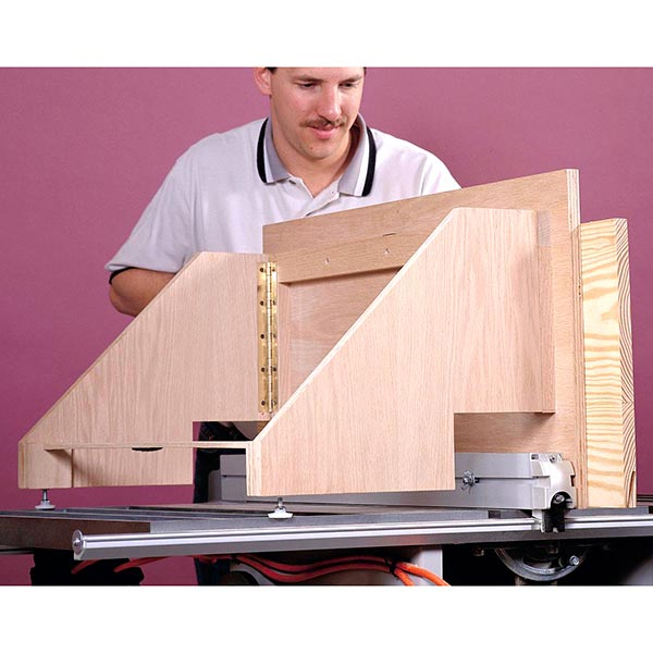 Texas-Size Tablesaw Rip Fence Woodworking Plan, Workshop & Jigs Jigs & Fixtures Workshop & Jigs $2 Shop Plans