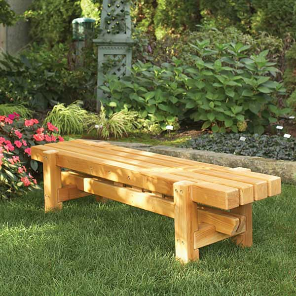 Durable, Doable Outdoor Bench Woodworking Plan, Outdoor Outdoor Furniture