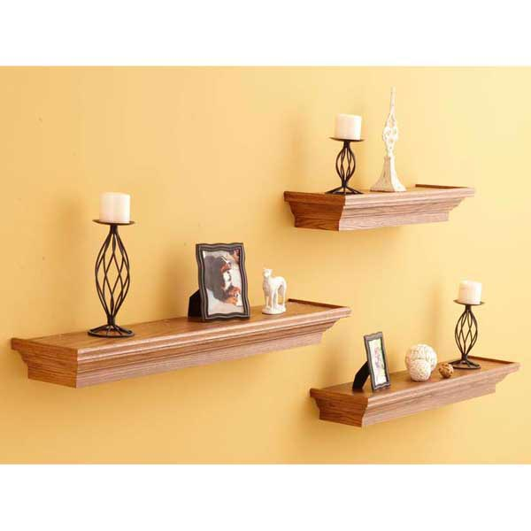 Floating Wall Shelves Woodworking Plan, Furniture Bookcases & Shelving