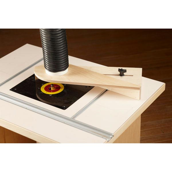 Router-Table Dust Hood Woodworking Plan, Workshop & Jigs Jigs & Fixtures Workshop & Jigs $2 Shop Plans