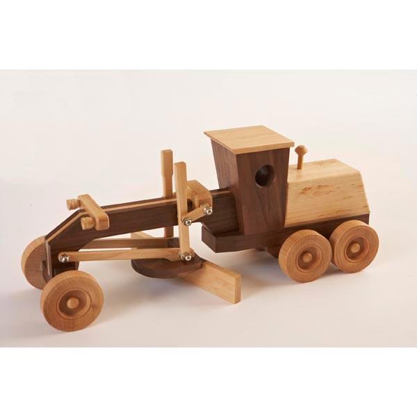 Constuction-Grade Motor Grader Woodworking Plan, Toys & Kids Furniture