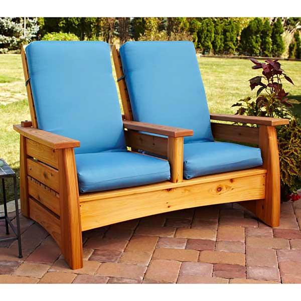 Outdoor Settee Woodworking Plan, Outdoor Outdoor Furniture