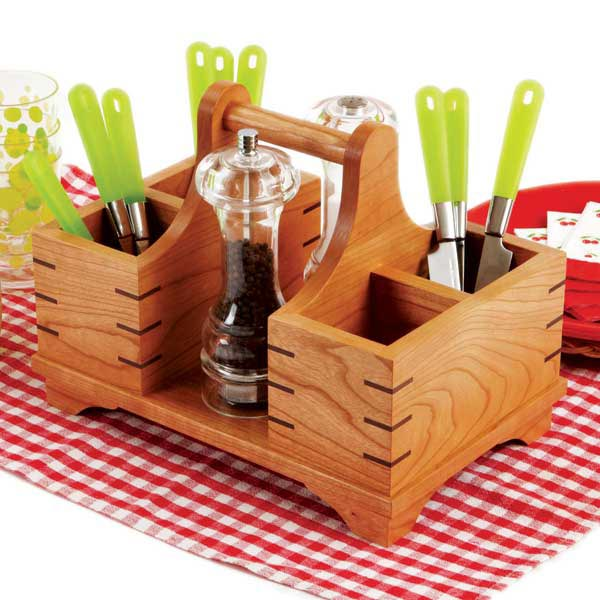 Silverware Caddy Woodworking Plan, Gifts U0026 Decorations Kitchen Accessories