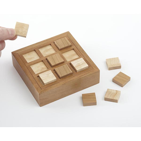 Tic-Tac-Toe Game Set Woodworking Plan, Toys & Kids Furniture