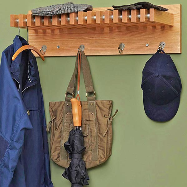 Coat and Hat Hanger