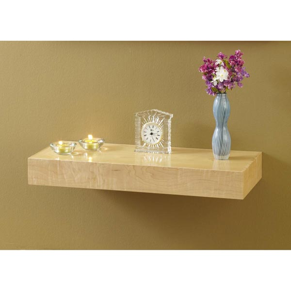 Hidden Compartment Wall Shelf Woodworking Plan From Wood
