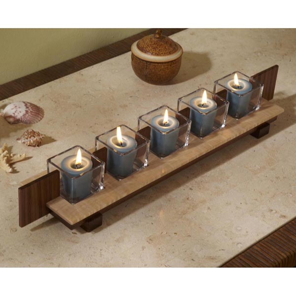 Votive Stand Woodworking Plan, Gifts & Decorations Lighting