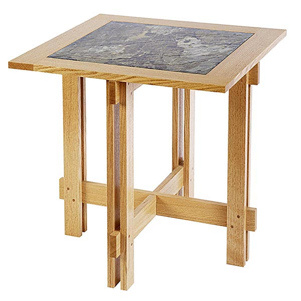 Tile-Top Accent Table Woodworking Plan, Furniture Tables