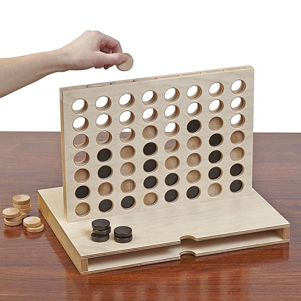 4-Across Game Woodworking Plan, Toys & Kids Furniture