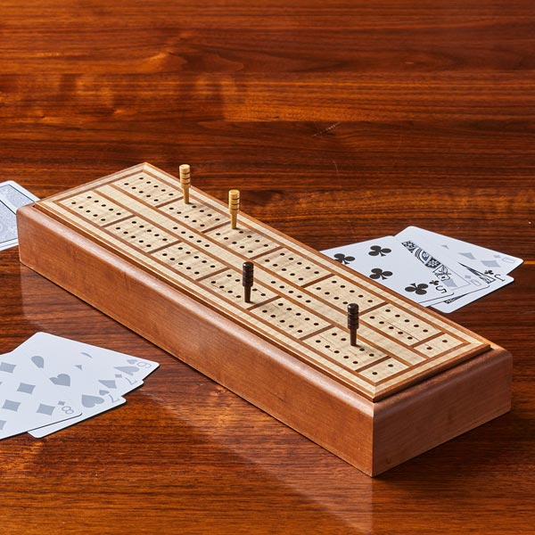 Cribbage Board and Keepsake Box