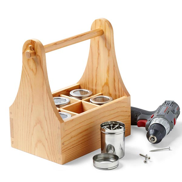Beer Caddy Woodworking Plan, Gifts & Decorations Kitchen Accessories
