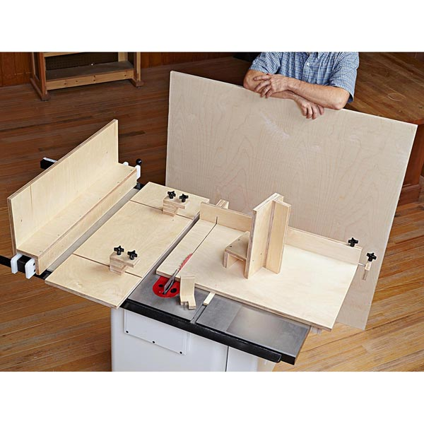 5 Essential Tablesaw Jigs