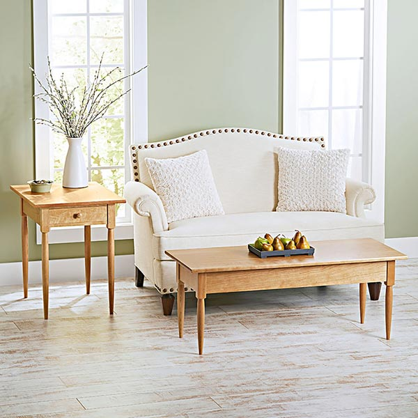 Perfect Pair Shaker Tables Woodworking Plan, Furniture Tables