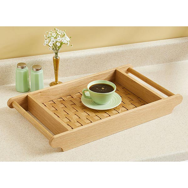 Basket-weave Serving Tray