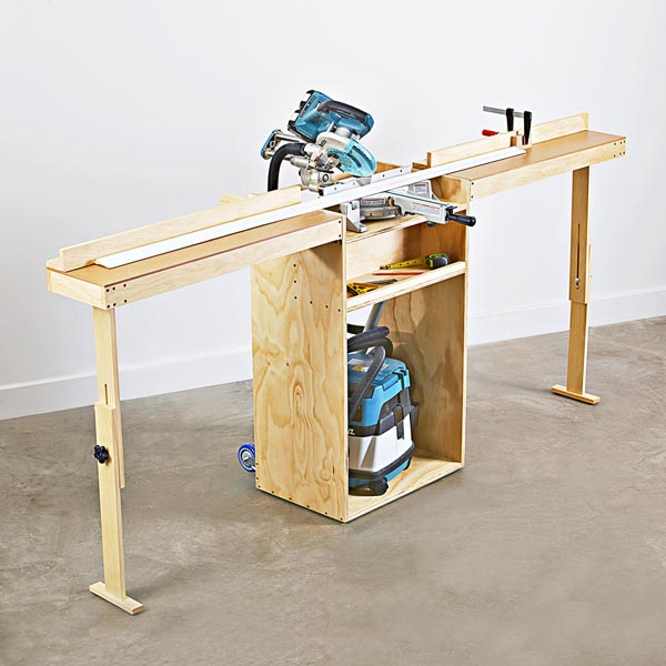 Portable Mitersaw Stand