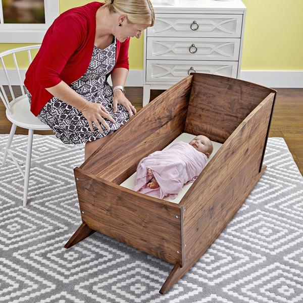 Easy-to-ship, Easy-to-stow Cradle