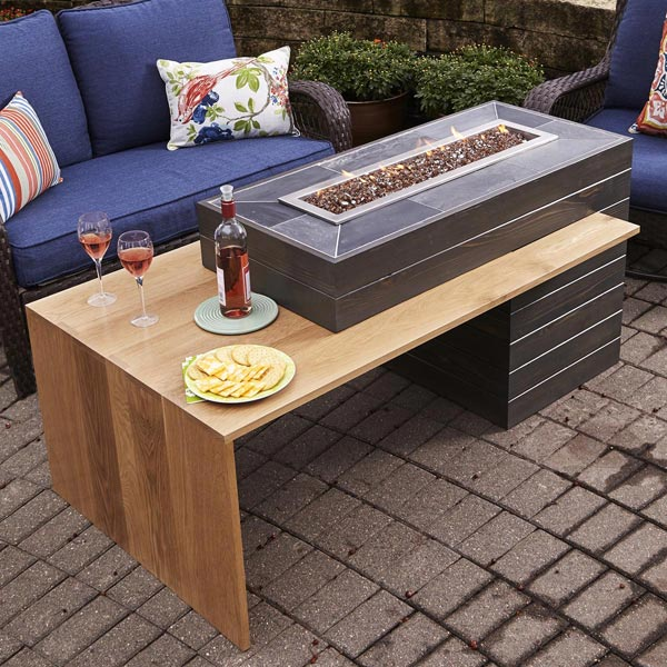 Comfy, Cozy Fire Table